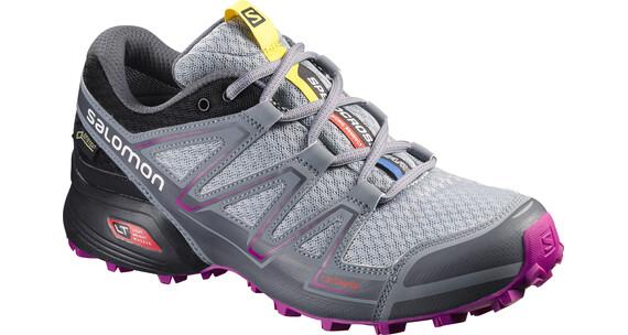 Salomon Speedcross Vario GTX Trailrunning Shoes Women light onix/black/deep dalhia